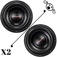 2 NEW American Bass XFL1522 15 Inch 2 Ohm 4000W MAX Dual CAR SUBWOOFERS PAIR