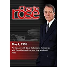 Charlie Rose with David Halberstam; Daniel Petrocelli; David Ross