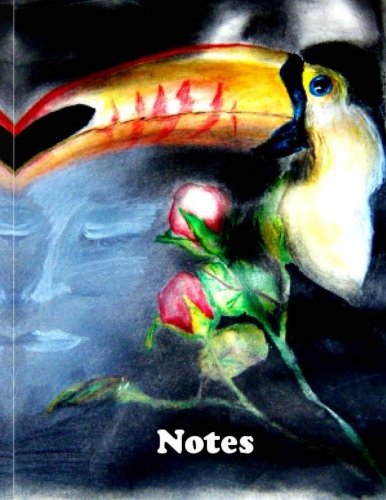 Notes Toucan Bird Artistic notepads