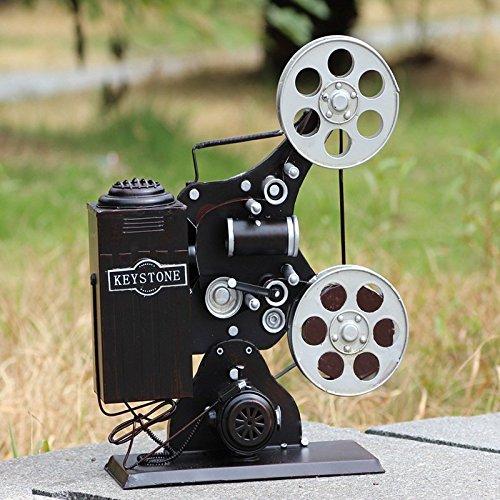WYJ Adornos Vintage antiguo proyector accesorios estudio prop bar ...