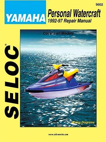 personal watercraft yamaha 1992 1997 seloc marine tune up and rh amazon com Yamaha Sustain Pedal Yamaha Sustain Pedal