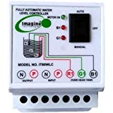 Imagine Technologies Fully Automatic Water level Controller And Indicator with 3 Sensors (White, IT80WLC)