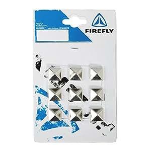 Firefly AP-451 - Fijaciones antideslizantes para snowboard, color negro