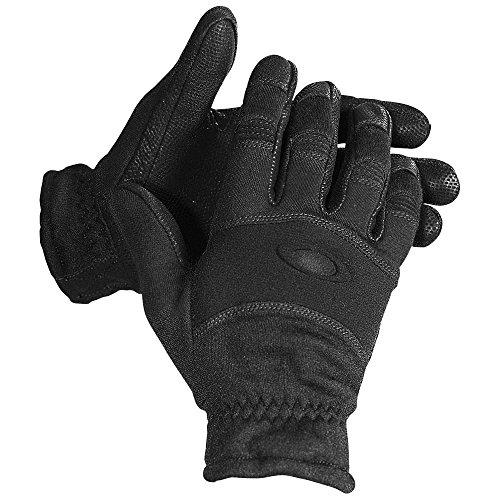 Oakley Men's Lightweight FR Fire Resistant Nomex Military Tactical Gloves - Black (Extra - Oakleys Military