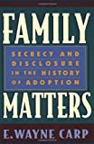 img - for Family Matters: 1st (First) Edition book / textbook / text book