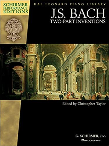 J.S. Bach Two-Part inventions (Schirmer Performance Editions) (Pal Leonard Piano Library)