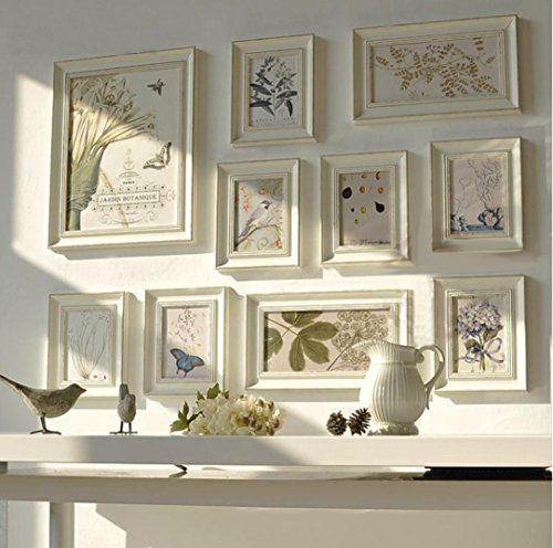 Multi Picture Photo Frame Set, Wall Frame Set, Large photo f