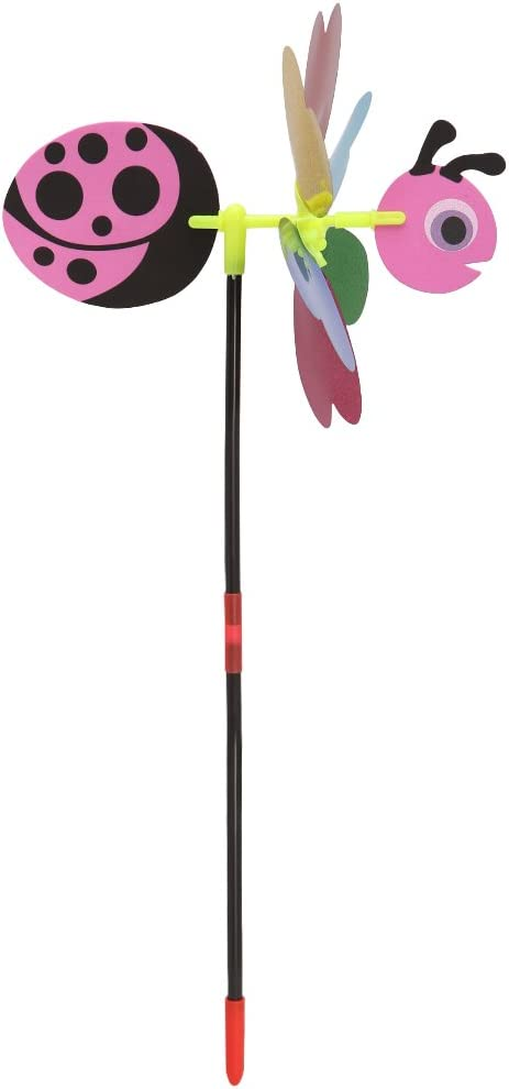 Lergo 3D Sequins Animal Bee Windmill Wind Spinner Home Garden Yard Decoration Kids Toy #10
