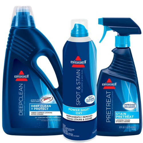 Bissell Deep Clean Formula Kit for Full Size Machine Cleaning, (Bissell Deep Cleaning Machines)