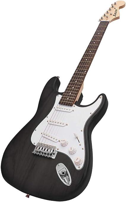 H HILABEE Guitarra Eléctrica De 6 Cuerdas Guitarra De Diapasón De ...
