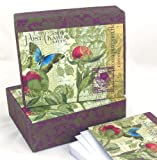Mudlark Memento Boxed Notes - Tranquil Garden, 25-Count Box
