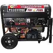 POWERLAND HYBRID 4.4 KW TRI FUEL (GAS/ PROPANE/NATURAL GAS) GENERATOR Home / RV