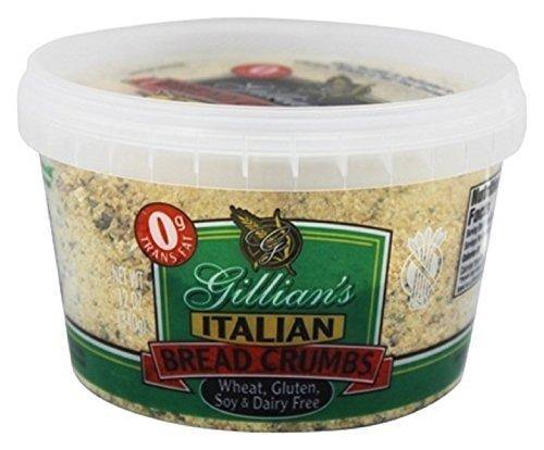 Gillian's Foods Bread Crumbs Gluten Free Italian -- 12 oz - 2 pc