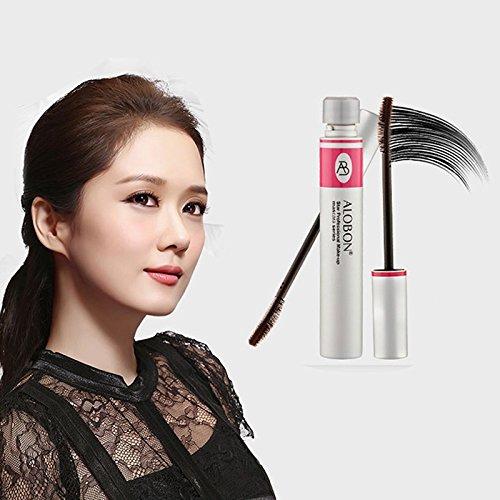 CASA SHOP Eyelashes Lengthening Extension Colossal Volume Mascara Black Ink Alobon 3d Anastasia Set Ring
