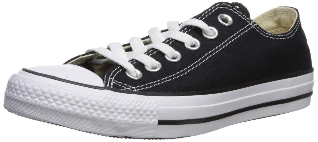 dfd7d636faae Galleon - Converse Chuck Taylor All Star Ox Black Monochrome Ankle-High  Fashion Sneaker - 12.5M   10.5M