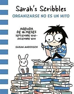Sarahs Scribbles: Agenda 2019: Organizarse no es un mito
