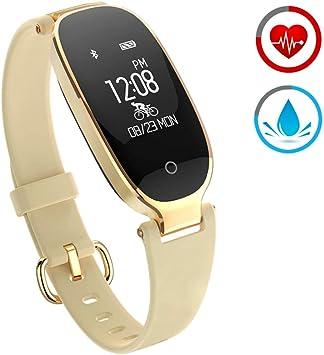 ZKCREATION Reloj Inteligente Mujer Fitness Tracker K3 Bluetooth ...