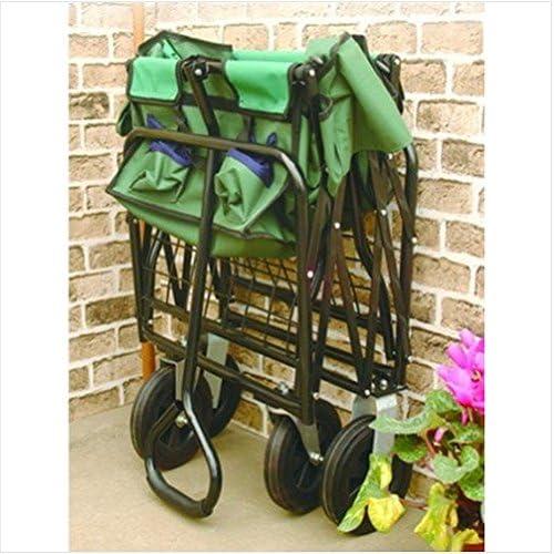 The Handy – Carro plegable de jardinería/guantes de jardinería jardín Patio cosas artículos Gadgets Patio jardín