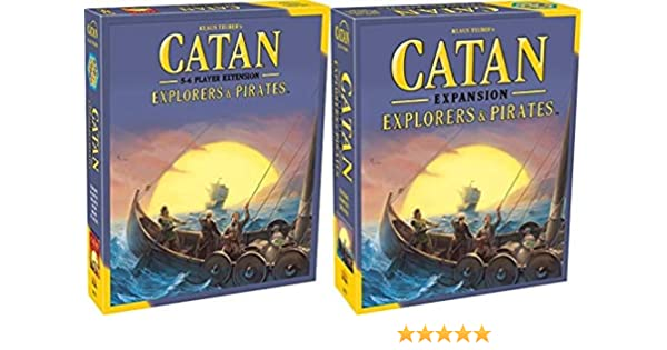 Catan: Explorers and Pirates Expansion Bundle con Catan: Explorers and Pirates Expansion 5-6 Player Extension: Amazon.es: Juguetes y juegos