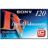 Sony DV 120 Minute Standard Size DVC w/chip (Single) (Discontinued by Manufacturer)