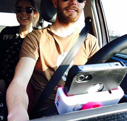 Kit auto Lolachat GHOST: Caricabatteria da Auto per accendisigari con 2 Porte USB + Supporto auto universale per smartphone