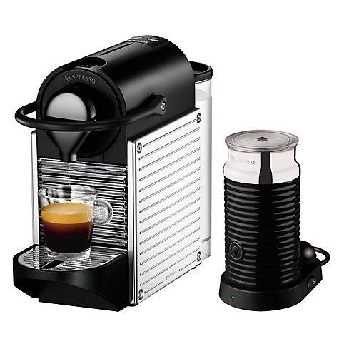 Krups xn300640 Nespresso Pixie - Cafetera eléctrica, color rojo ...
