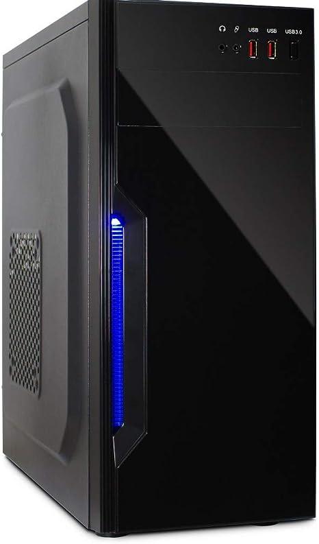 Inter-Tech B-42 Midi-Tower Negro - Caja de Ordenador (Midi-Tower ...
