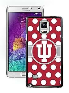 Indiana Hoosiers IU Samsung Galaxy note 4 black Phone Case 196