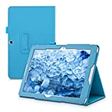kwmobile Elegant synthetic leather case for Acer Iconia One 10 B3-A20 in light blue with convenient STAND FEATURE