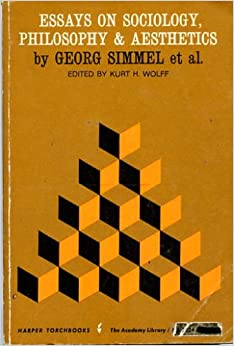 georg simmel essays Free essays george simmel essay george simmel essay 2847 words 12 pages 1 introduction while simmel is generally not regarded as being as influential in sociology as were marx, weber.