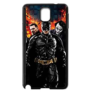 Personality customization TPU Case with Batman Batman Samsung Galaxy Note 3 Cell Phone Case Black