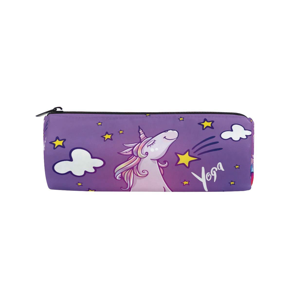 Divertido estuche de unicornio para hacer yoga, arcoíris ...