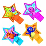 Kidspartyworld.Com Backyardigans Whistle Party Favor - 4/Pkg