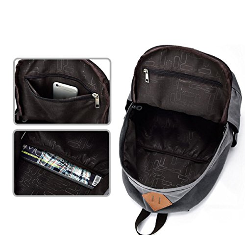 Man Svago Grigio Retrò Di Corsa Bag Canvas Calcolatore Ox0qw4vEpp