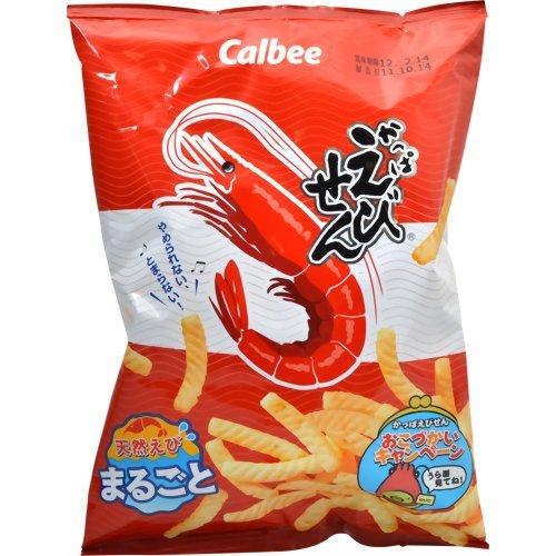 Japanese Snack Okashi Calbee Kappaebisen 90g×12bags