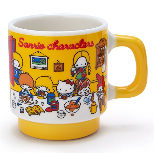 Sanrio Sanrio Characters mug '70s room From Japan New (70s Tv Characters)