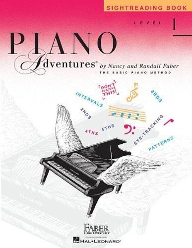 Sightreading Book: Level 1 (Piano Adventures) by Nancy Faber (2012) Paperback