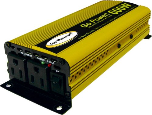 600w Power Pack - Go Power! GP-600 600-Watt Modified Sine Wave Inverter