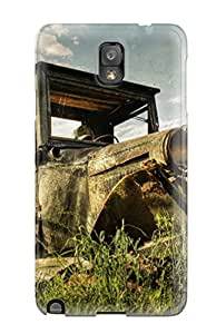 For Galaxy Note 3 Fashion Design Old Rusty Car On The Field Case-ReoCBbD864wXCOY