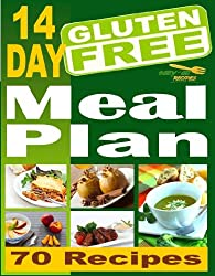 Easy-As Recipes: 14 Day Gluten-Free Meal Plan For Breakfast, Lunch, Dinner. (Easy-As Gluten Free Recipes Book 6)