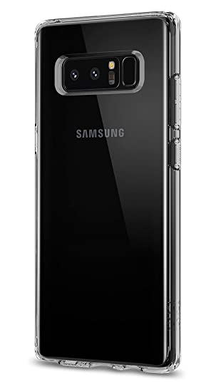 low priced 1d8fc 540a6 Spigen Ultra Hybrid Designed for Samsung Galaxy Note 8 Case (2017) -  Crystal Clear