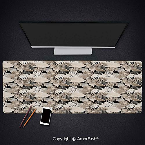 Heat Transferred Printing Mouse Pad for Office and Home,Non-Slip Rubber,0.16inch Thick,35.5