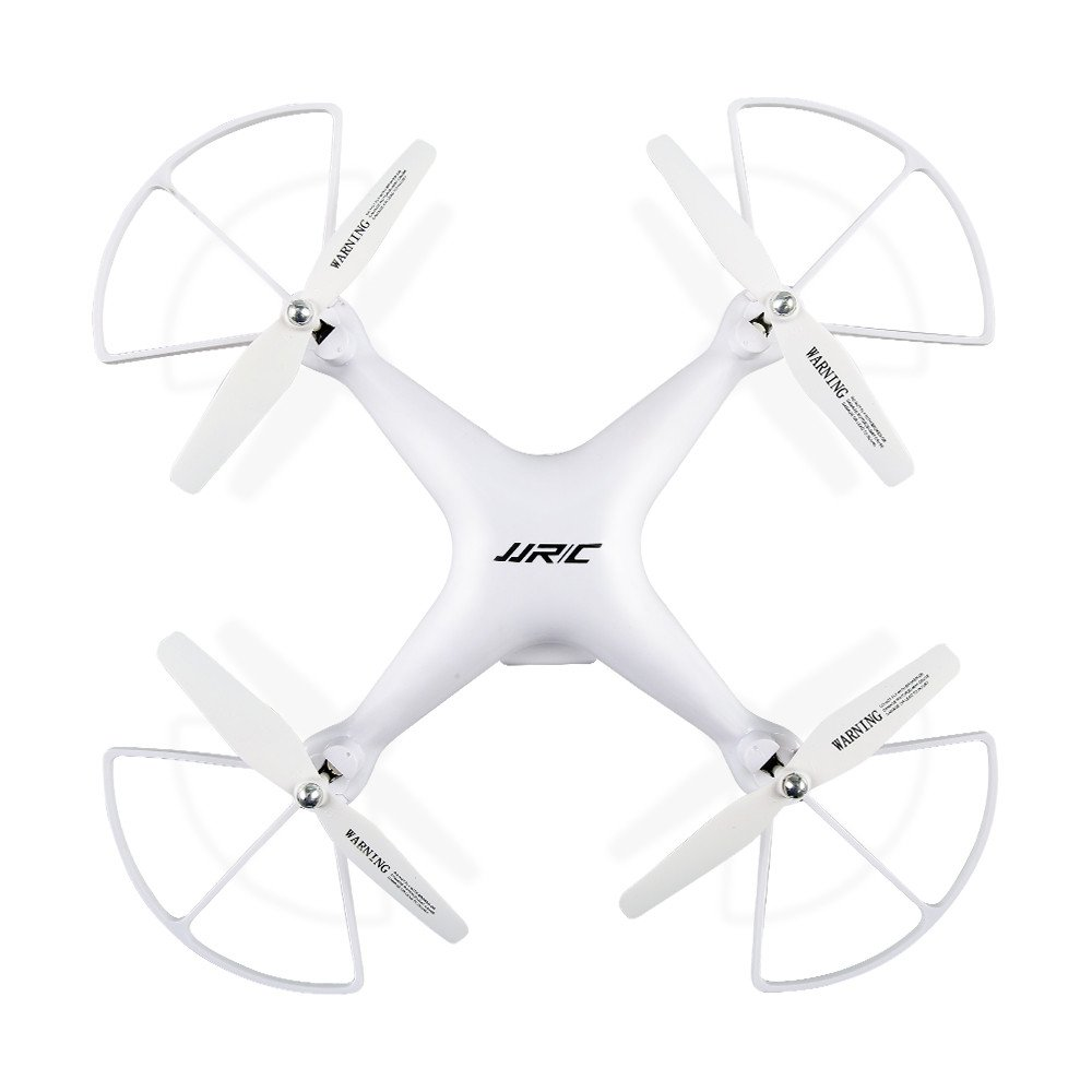 Chartsea Quadcopter Drone with Camera Live Video, JJRC H68 Wide Angle Lens 720P HD Camera WiFi FPV RC Drone (White) by Chartsea (Image #3)
