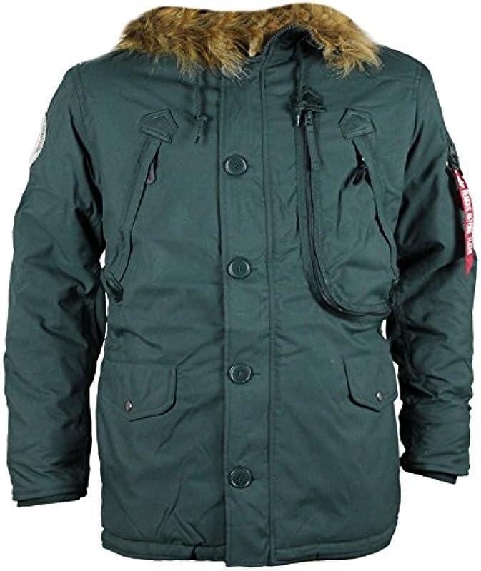 Alpha Industries kurtka zimowa kurtka polar Dark petrol: Odzież