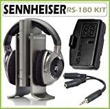 Sennheiser RS-180 Digital Wireless Headphone System with Accessory Kit
