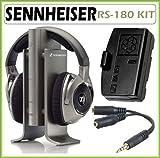 Sennheiser RS-180 Digital Wireless Headphone System with Accessory Kit