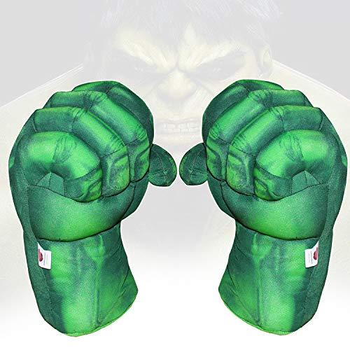 1 Pair Toy Hulk Gloves Very Light Big Soft Plush Gloves Hulk Hands Toys Smash Parent-Child Interactive Toy Accessories…