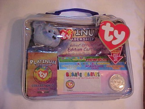 Ty Beanie Babies Official Club Kit II: Platinum Edition