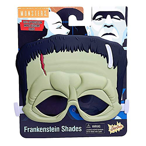 Costume Sunglasses Monsters Frankenstein Sun-Staches Party Favors