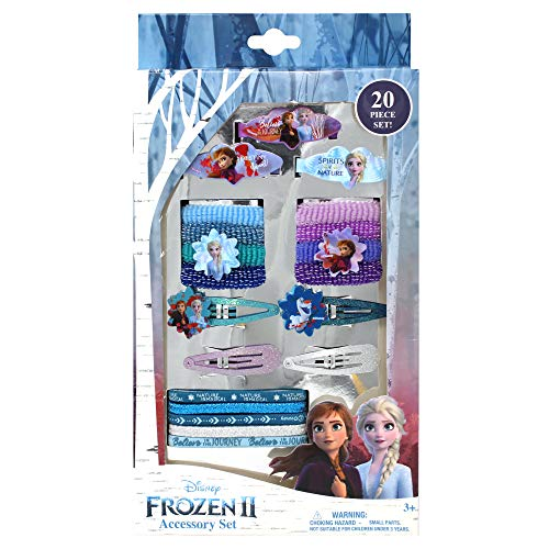 Frozen 2 Girls 20 Piece Hair Accessory Set